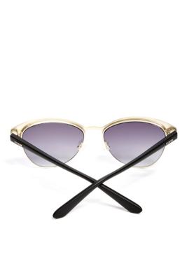 Glam Half-Frame Sunglasses GUESS.com
