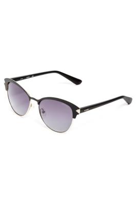 Guess Half Frame Glasses : Glam Half-Frame Sunglasses GUESS.com