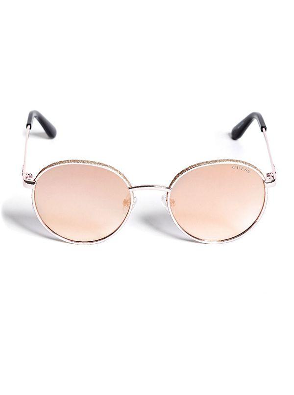 af10874d75 Gracie Glitter Round Sunglasses