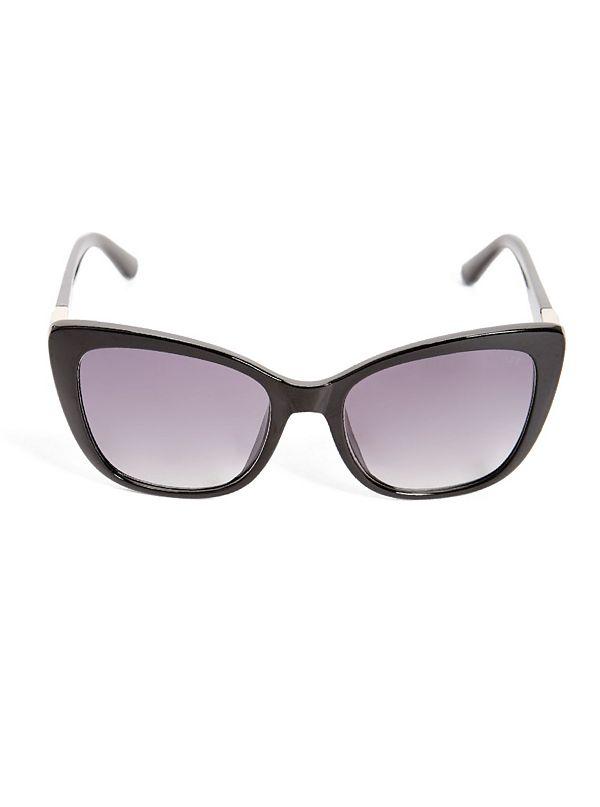 1fe2febd0b Cat-Eye Triangle Logo Sunglasses
