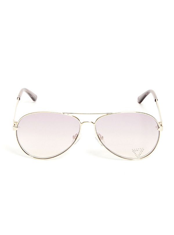49fee65ad53f Embellished Aviator Sunglasses