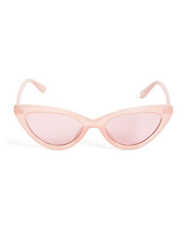0b30fa572eaca GUESS Originals Pink Cat-Eye Sunglasses