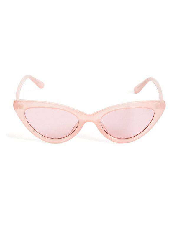 ba80519cdf GUESS Originals Pink Cat-Eye Sunglasses
