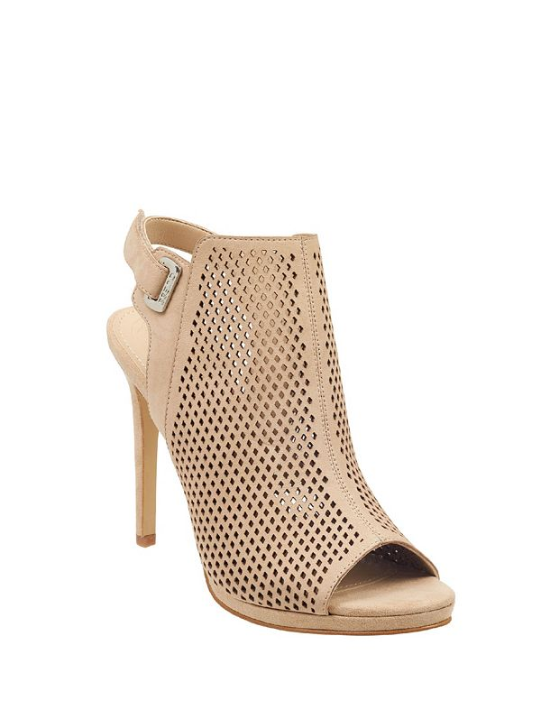 4e3a00c8fb Aubria Peep-Toe Booties