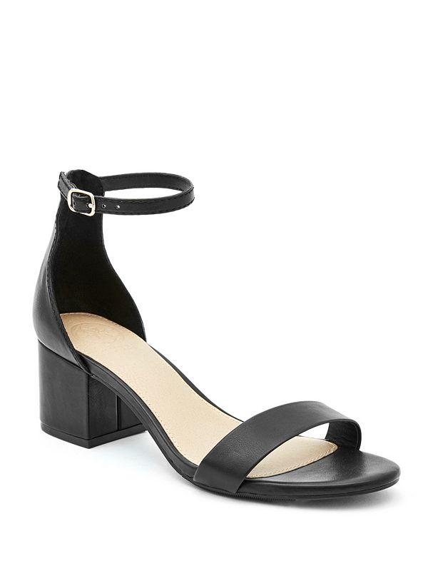 a3bd6695618 Blockie Ankle-Strap Heels