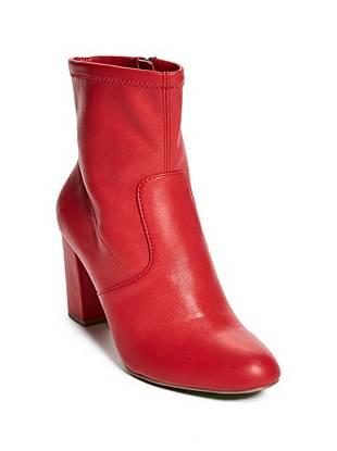 Boost Block Heel Booties by Guess
