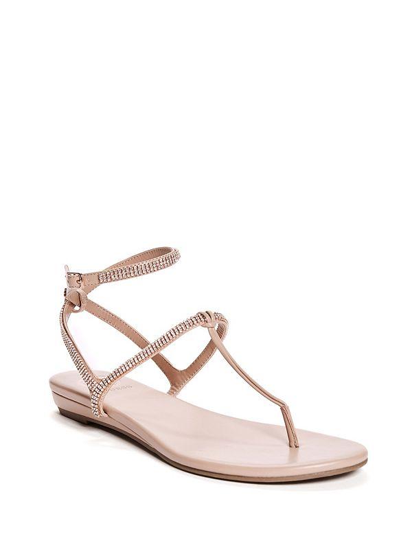 7dfa3b4a1 Brightly Rhinestone Strap Sandals
