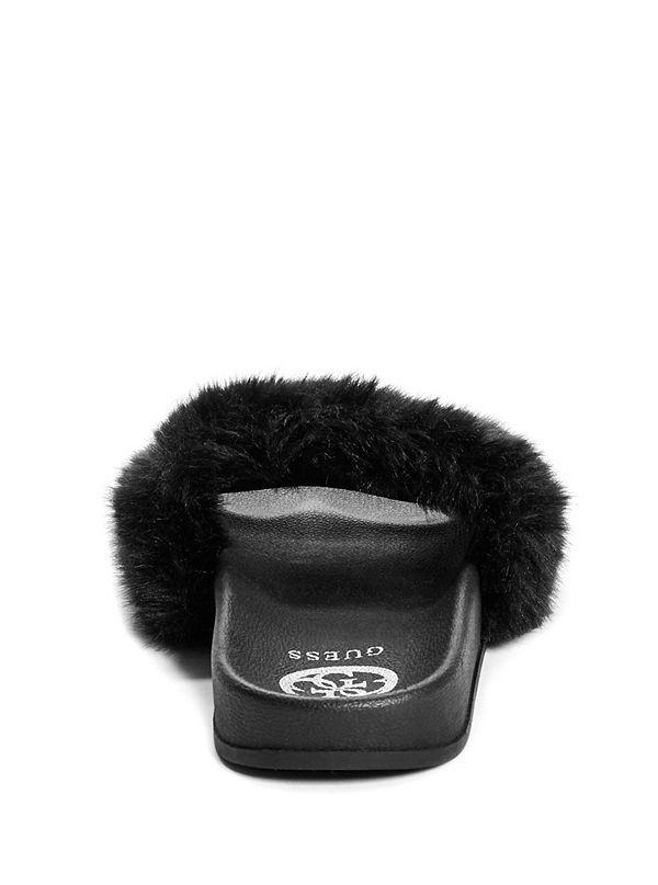 f944c02cab4 Buffie Faux-Fur Slide Sandals