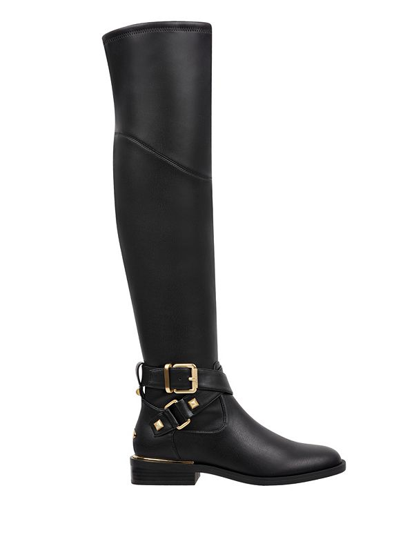 Dalary Buckle Riding Boots Guesscom