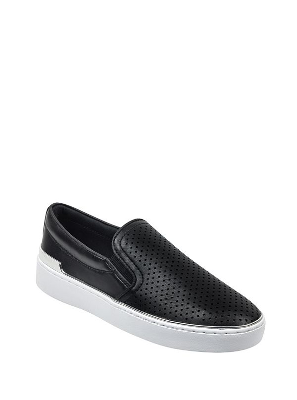 Deanda Perforated Slip-On Sneakers 8f15cb6578a66