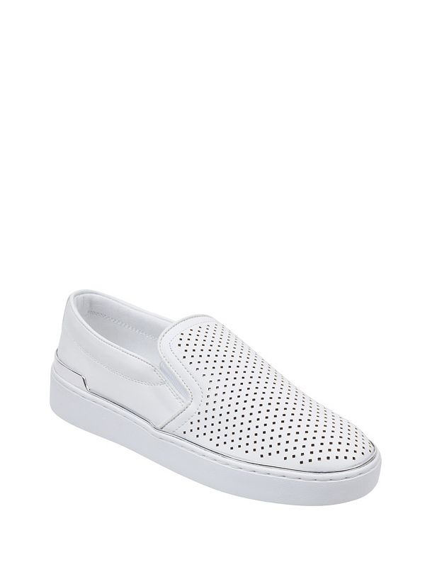 7f01f35b63d9 Deanda Perforated Slip-On Sneakers