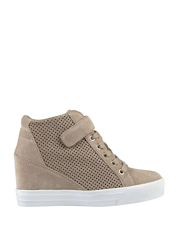 decia wedge sneakers guesscom