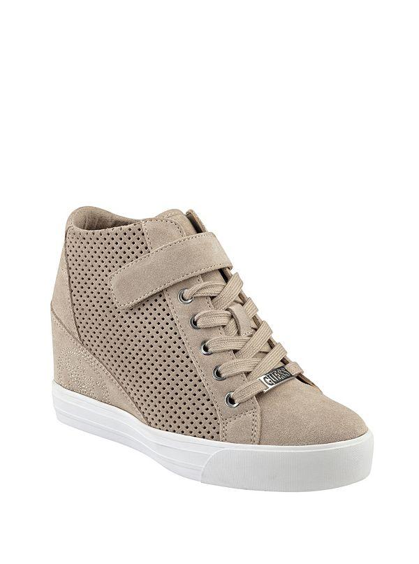 decia wedge sneakers guesscom