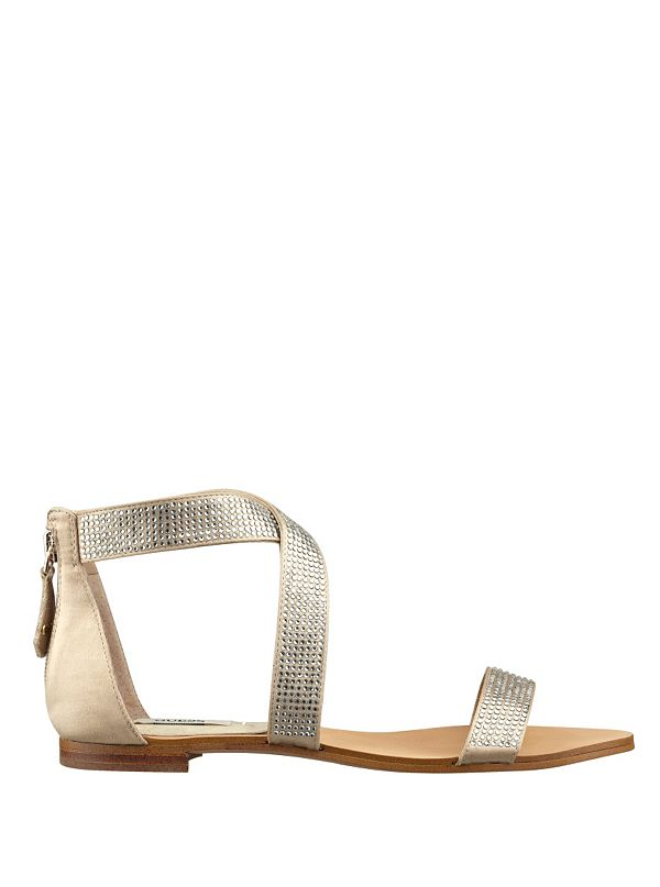 3efc1cf9b Jastra Rhinestone Sandals