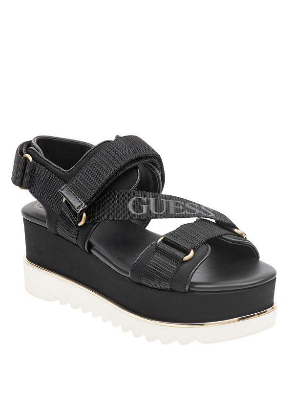 1f74289449a4 Laureta Velcro Platform Sandals