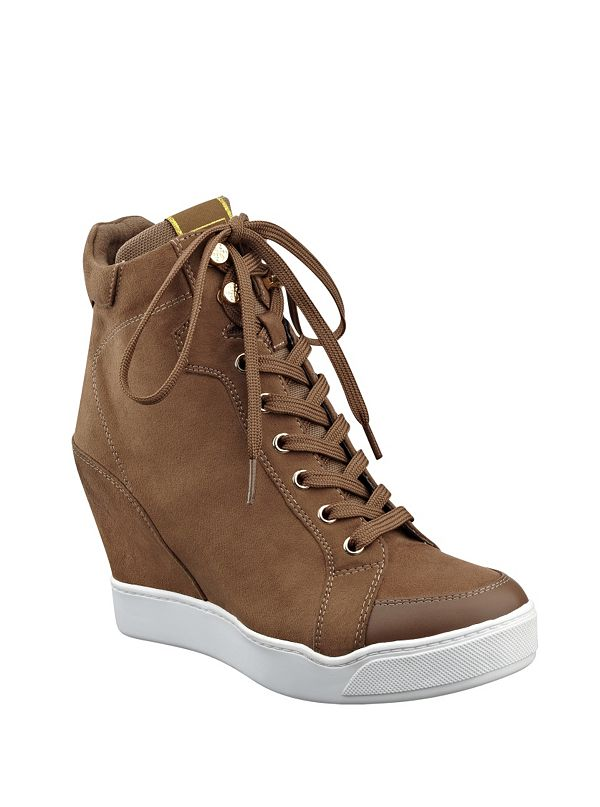 merina wedge sneakers guesscom