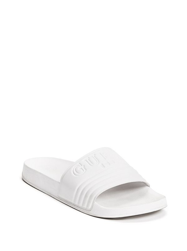 fa77423cd Susie Logo Slide Sandals