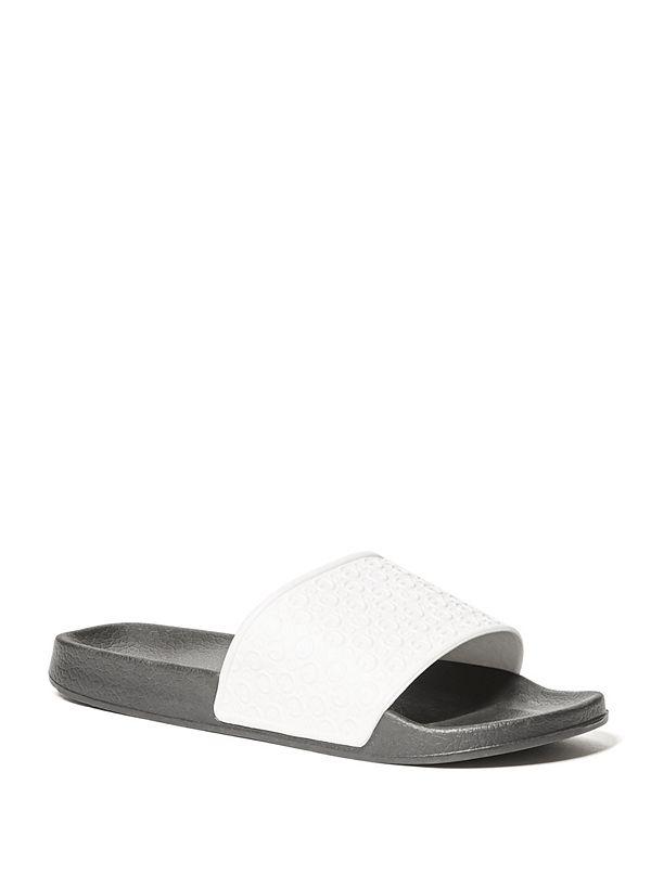 f0b0a820c34 Chi Logo Slide Sandals