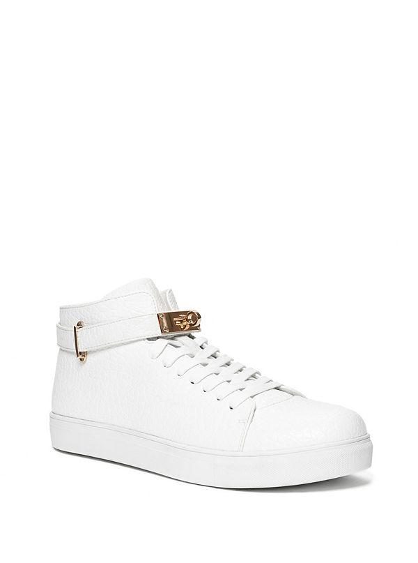 Dwayne Faux-Leather Sneakers