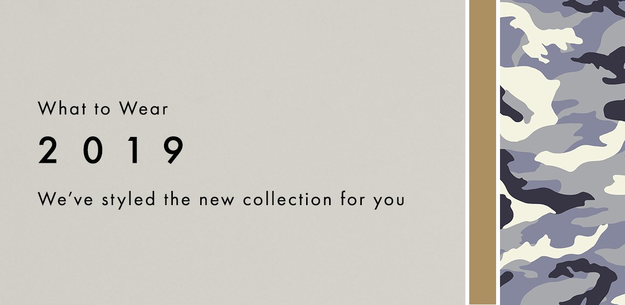 We've styled the new collection for you