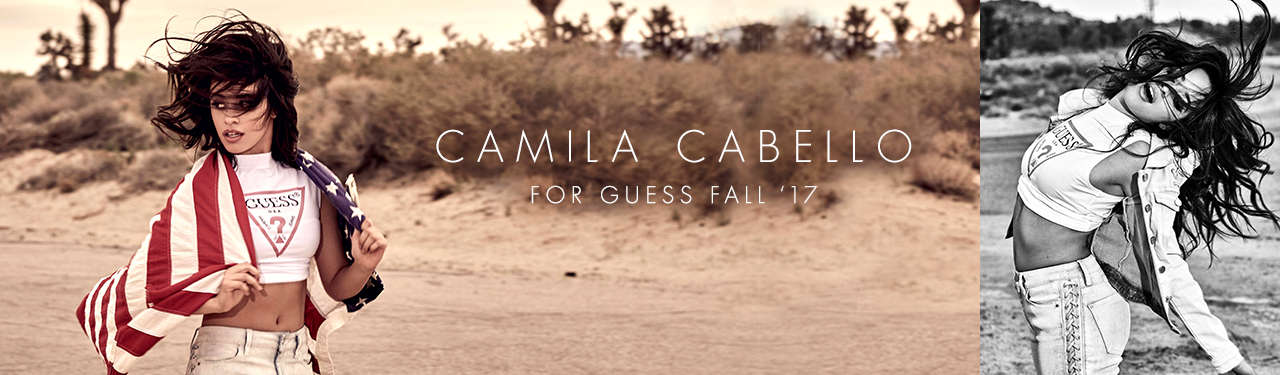 Camila Cabello For Guess Fall '17