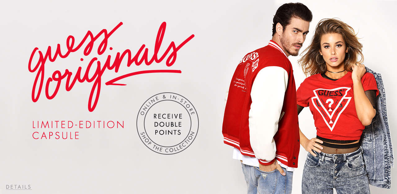 Guess Originals Limited-Edition Capsule