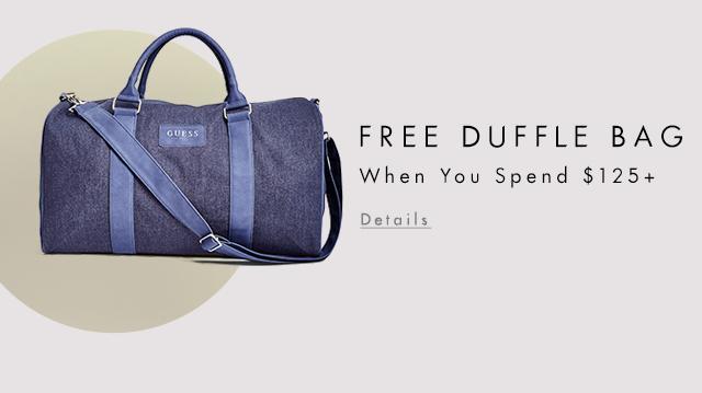 Get a Free Duffle Bag