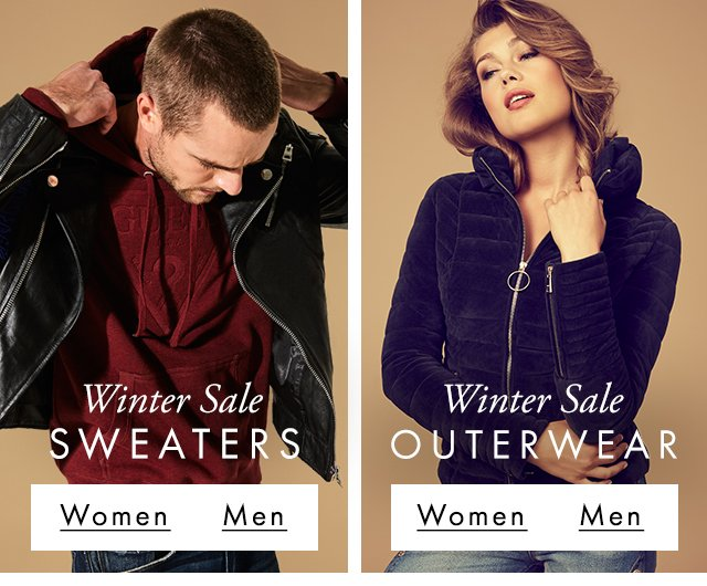 GUESS? Sweaters & Outerwear