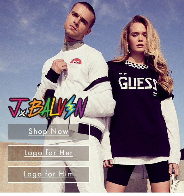 GUESS? x J Balvin