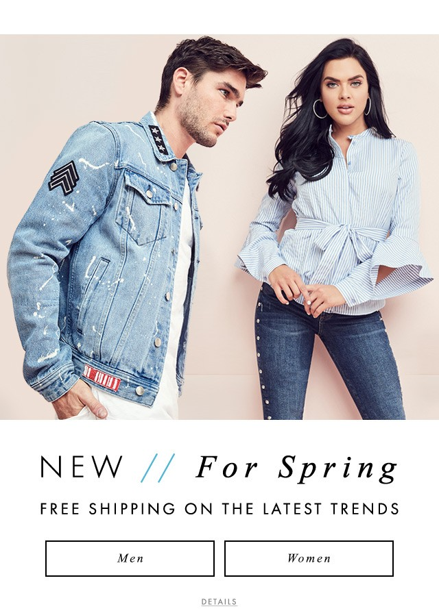 Guess official global lifestyle brand for women men and kids new arrivals for spring shop new for spring stopboris Choice Image