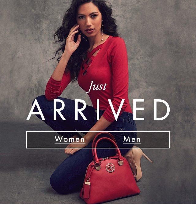 GUESS? Womens, Mens & Handbags new arrivals