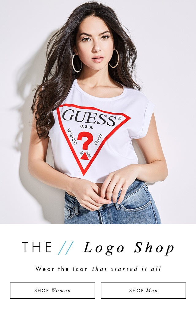 shop GUESS logo