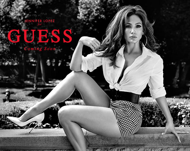 JENNIFER LOPEZ FOR GUESS JEANS