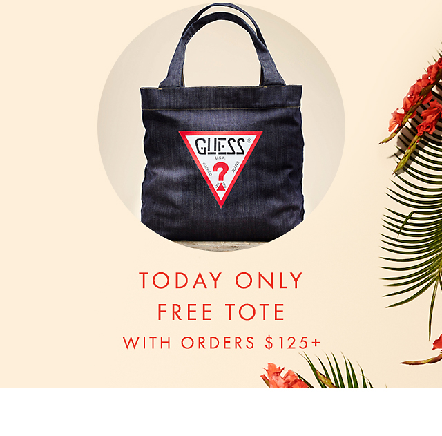 Today Only Free tote