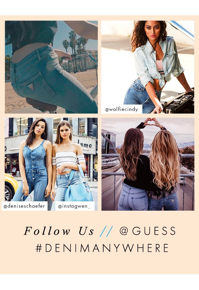 Follow @GUESS