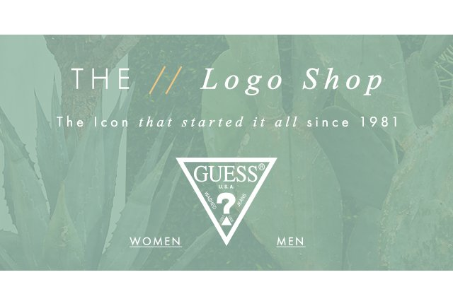 Shop GUESS? Logo