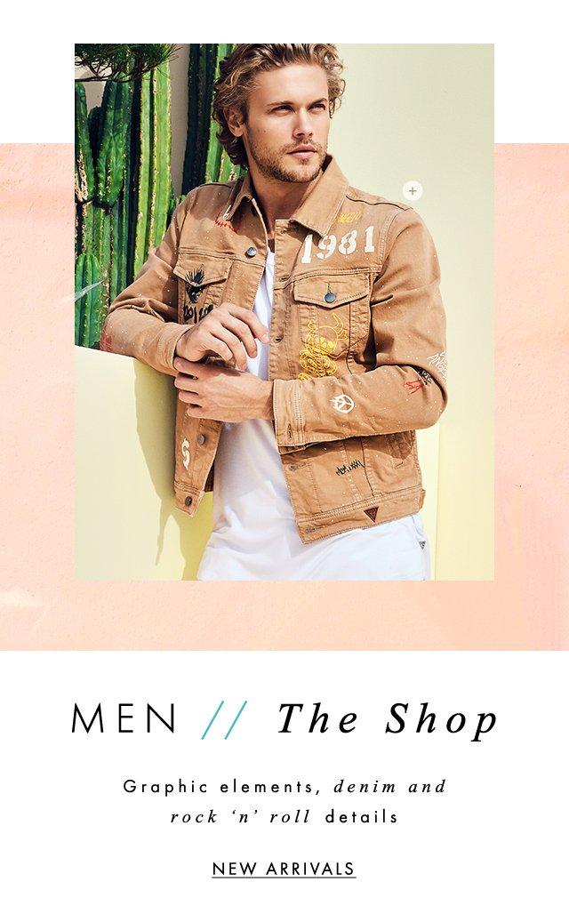 shop GUESS? Men