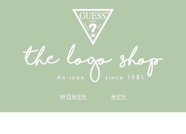 GUESS? the logo shop