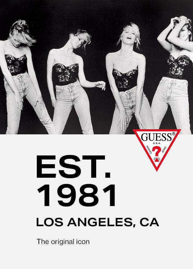 GUESS? The original LA fashion icon