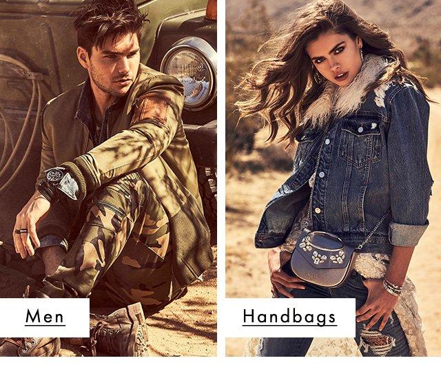 GUESS? Mens & Handbags new arrivals