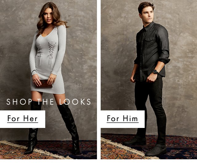 GUESS? Shop the Looks