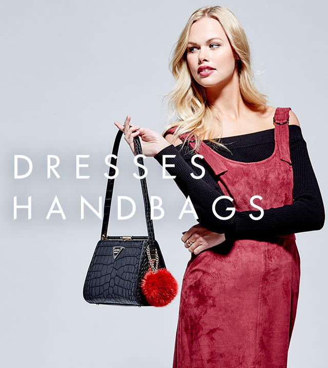 Shop Dresses & Handbags