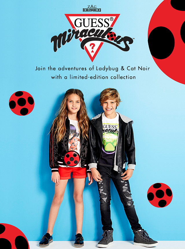 Join the adventures of Ladybug & Cat Noir with a limited-edition collection
