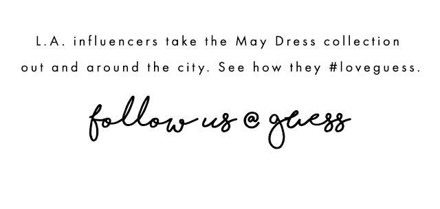 Follow us @guess