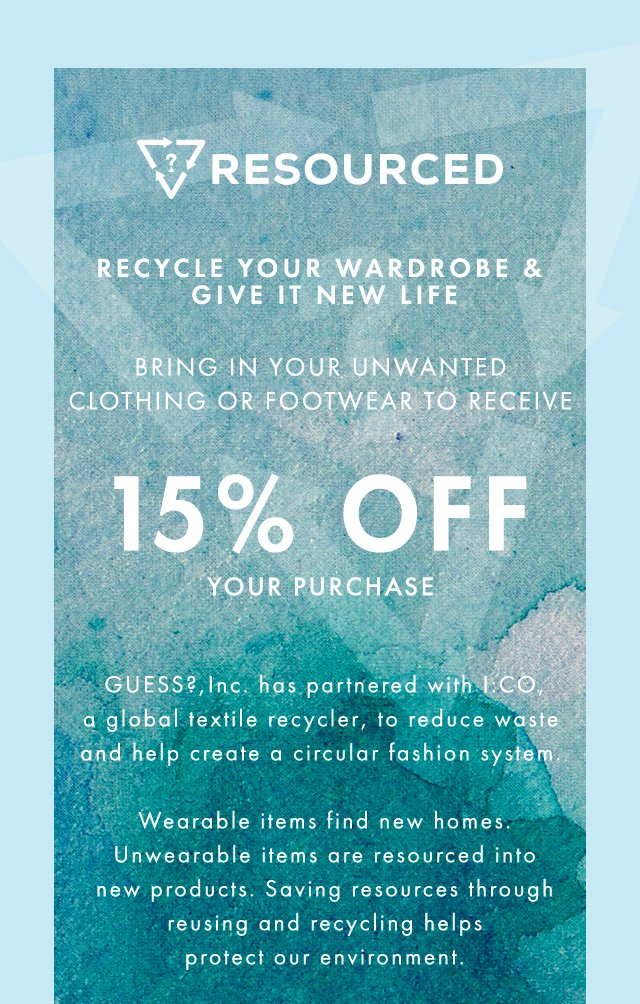 recycle your wardrobe: give it new life
