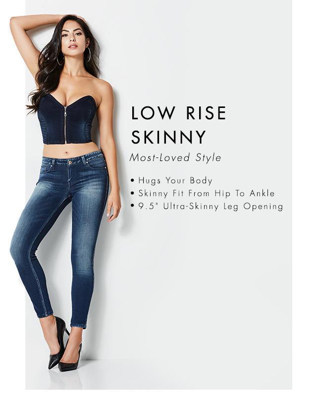 Low Rise Skinny