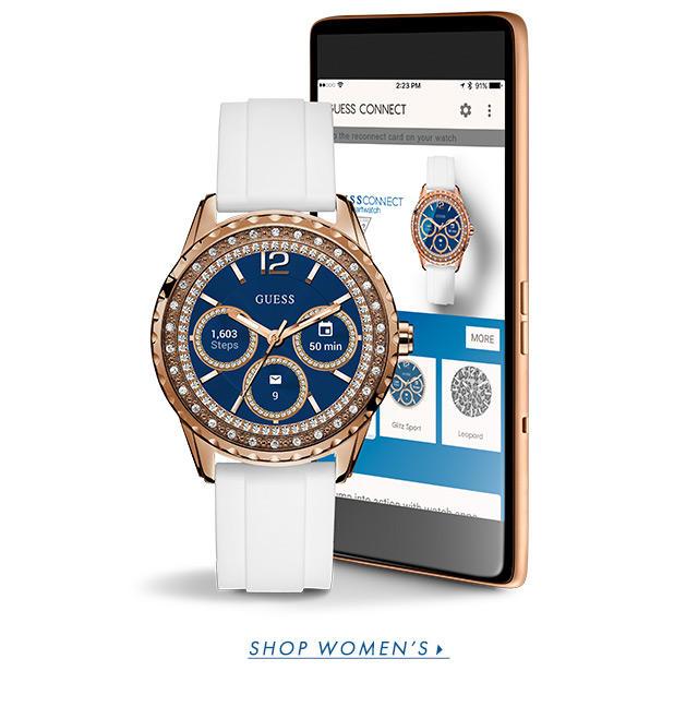 Women's Smartwatches & Digital Watches | GUESS