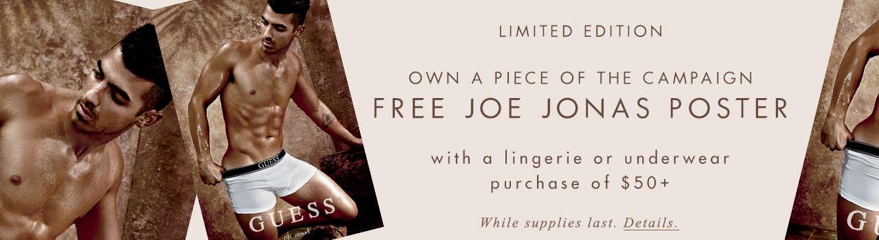 Free Joe Jonas poster