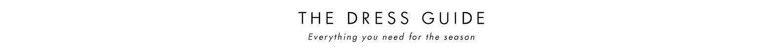 Dress Guide