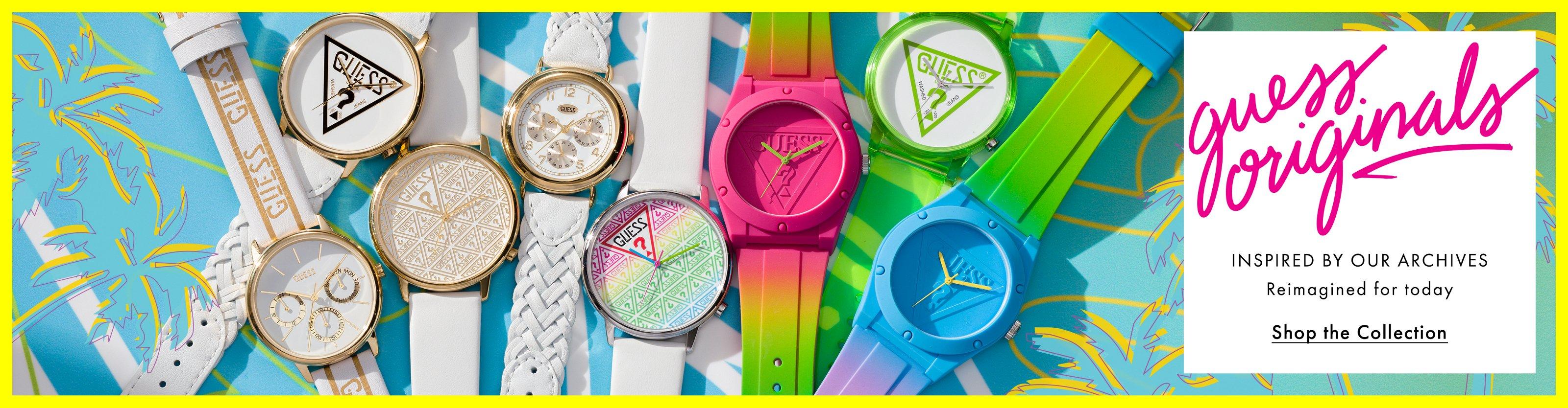 Shop GUESS Originals Watches